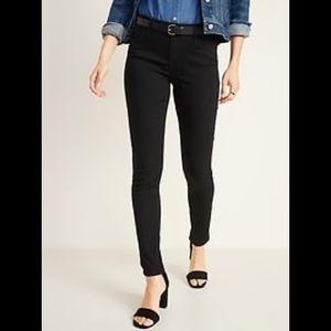 Old Navy Super Skinny Jeans Black Size 12